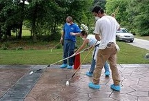 Concrete Sealants / If you are rebuilding your driveway, patio, or walkway, you should get a concrete sealant. concrete sealants will certainly given protection against external factors such as dirt, dust, and water.