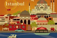 Istanbul Vintage Posters