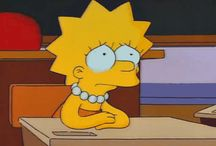 The Simpsons asthetic