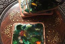 Hediyelikler / Seramik ve mozaik hediyelikler.