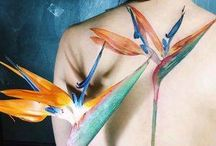 Botanical Tattoos / Find more at www.atattoostory.altervista.org