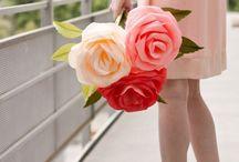papír virágok/ paper flower