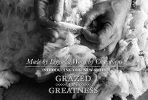 Made by legends, Worn by Champions / Introducing our 'Grazed on Greatness' Ltd Edition suits – Take a look our step-by-step 'Grazed on Greatness' journey.