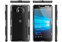 Microsoft 950 Case, Ghostek® Cloak Series for Nokia Lumia 950 Armor ! / Microsoft 950 Case, Ghostek® Cloak Series for Nokia Lumia 950 Slim Hybrid Impact Armor Cover Carrying Case | HD Screen Protector | Warranty Exchange | Aluminum Bumper | Ultra Fit      Made with a Slim Crystal Clear Full TPU Body & a Reinforced Aluminum Frame     Ultimate Protection with Precision Cut Outs for Easy Access to All Ports & Jacks but Without the Bulkiness.