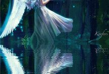 Angels, Fairies, and other magical creatures / by Melody Apple
