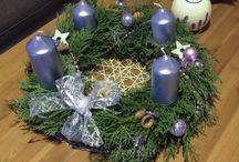 Interior decoration Grafidka / Advent wreath, gingerbread