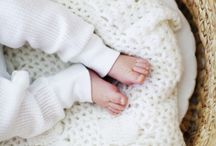 little ones / tiny hands and tiny feet