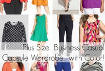 Plus Size Fashion Advice / Fashion advice for plus size women for shopping, style, and more. / by Wardrobe Oxygen