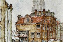 Antonpiek Rotterdam-Delft-Denhaag