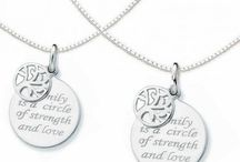 """Mother Daughter Charms / KAYA""""s Offers you to celebrate the love & everlasting bond between a mother & daughter with this unique, beautiful piece."""