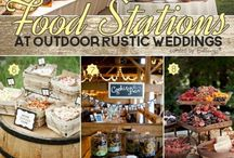 Wedding food displays