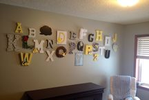 Baby room letters