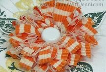 """Petal Making 101 / Paper and fabric flower projects with """"how to"""" instructions so you can embellish your scrapbooks, mini albums, cards, tags, and many craft ideas.  / by Lisa Hall"""