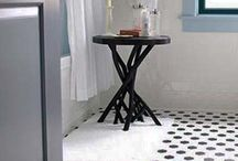 Black & White bathroom Ideas
