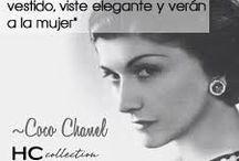 Cosas bellas, Coco Chanel