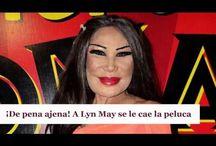 ¡De pena ajena! A Lyn May se le cae la peluca