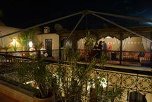 Terrasse Riad le Clos des Arts