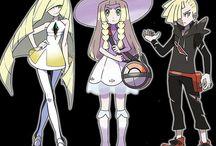pokemon trainers families