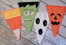 pennants / sewing ideas