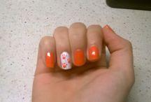 Nail Art Ideas from Gabrielle / nail art de gabrielle, copie d idees du net ou idees orginlnales sur mes ongles
