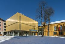 modern museums / by Sherk