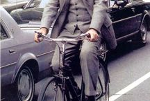 Celebrities on bike