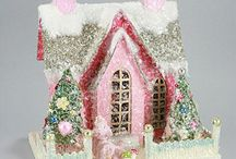 Paper Snow Houses / by Paula Palmer