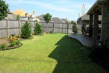 Backyard landscapin