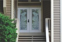 Frosted glass window ideas