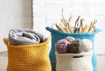 Croshet baskets