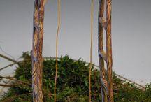 dřevo, zahrada