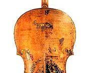 Hegedűk. / Művészhegedűk.