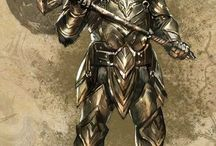 elder scrolls character art