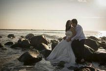 post boda en la playa / nuestro precioso post boda en la playa
