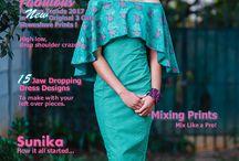Sunika Magazine / Sunika is South Africas' African fashion, magazine dedicated to African Fashion, Culture, Weddings and events. Sunika offers intelligent, meaningful and inspiration