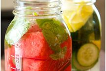 Healthy Drinks / Detoxifying Waters