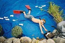 Fun Floor Photography (Kids)