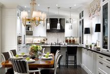 Kitchen and Living Area / Kitchen designs and Living Areas