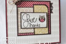 TAWS Give Thanks / this is a fun Thanksgiving sentiment set that is perfect for all your fall holliday's