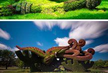 jardín ideal