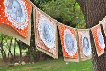 Papel Craft e toalhas rendadas <3