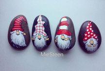 Steine Weihnachten