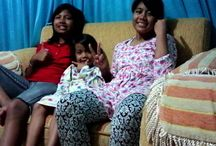 Rahma Putri Azzahra / me and sista