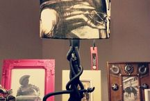 LAMPS & LIGHTS / CUSTOM MADE LAMPS AND LIGHTS BY CHICKWITHGUNS