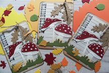 ATCs - Artist Trading Cards / Artist Trading Cards (ATC) created with Marianne Design products