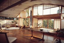 George Nakashima furniture / Find the most beautiful examples of the American designer George Nakashima on Mearto.com.