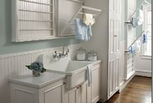 Laundry Rooms tuh-die-for / by Crafted Niche