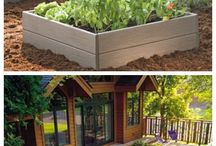 Herb gardens / Ideas for food gardens