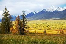 Ural / Nature of Ural and mountain scapes