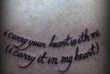 Tattoos / by Stephanie Czarnecki